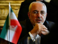 Iran Foreign minister Mohammad Javad Zarif Khonsari talks with Belgian Foreign minister before their meeting at the Palais Egmont in Brussels on January 11, 2018. Europe and Iran are to put on a united front in support of the landmark 2015 nuclear deal at talks in Brussels Thursday as Washington …