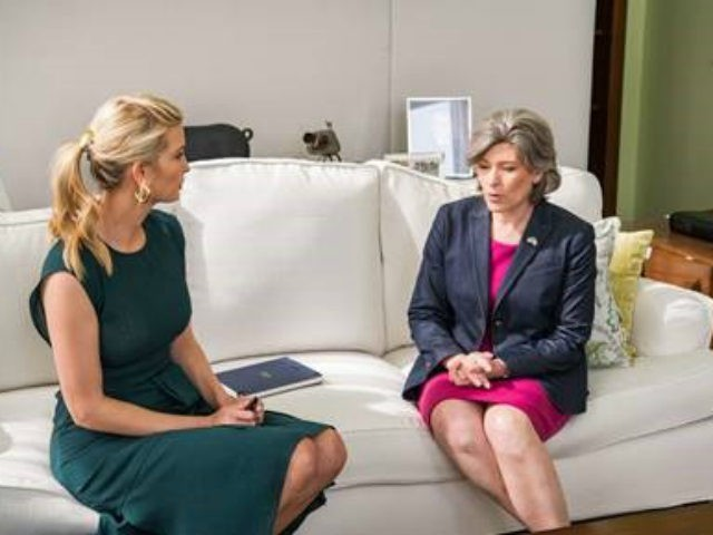 Ivanka Trump and Joni Ernst