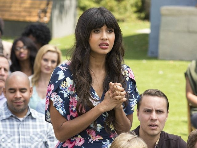 Jameela Jamil in The Good Place (NBC, 2016)