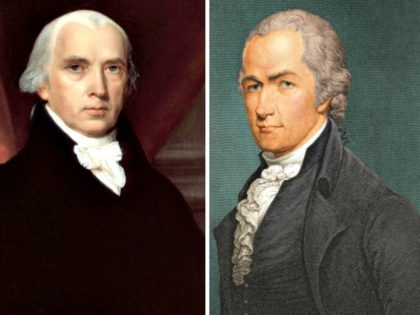 James Madison, Alexander Hamilton Getty