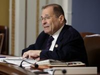 WASHINGTON, DC - MAY 16: House Judiciary Committee Chairman Jerrold Nadler (D-NY) takes a turn reading all 448 pages of the Mueller Report in the Rules Committee hearing room at the U.S. Capitol May 16, 2019 in Washington, DC. Democratic members of the House are doing a marathon reading of …