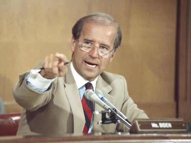Joe Biden Senate (Marcy Nighswander / Associated Press)