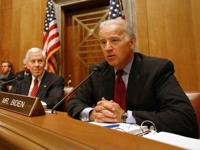 Joe Biden in Senate (Mark Wilson / Getty)