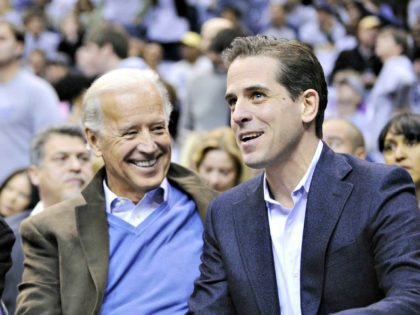 Joe and Hunter Biden Nick WassAP Photo