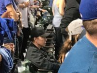 Photo Shoes John Cusack Sitting During Military Salute