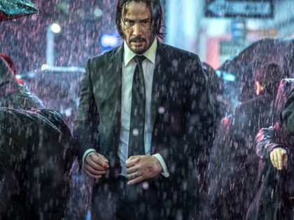 Keanu Reeves in John Wick: Chapter 3 - Parabellum (2019) Titles: John Wick: Chapter 3 - Parabellum People: Keanu Reeves Photo by Niko Tevernise/Lionsgate