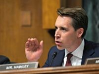 Sen. Josh Hawley, R-Mo., questions Attorney General William Barr during a Senate Judiciary Committee hearing on Capitol Hill in Washington, Wednesday, May 1, 2019. (AP Photo/Susan Walsh)