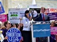 Judy Chu.Abortion Rally
