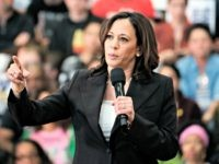 In this Sunday May 19, 2019 photo Democratic presidential candidate Sen. Kamala Harris, D-Calif., talks during her first campaign organizing event at Los Angeles Southwest College in Los Angeles. (AP Photo/Richard Vogel)