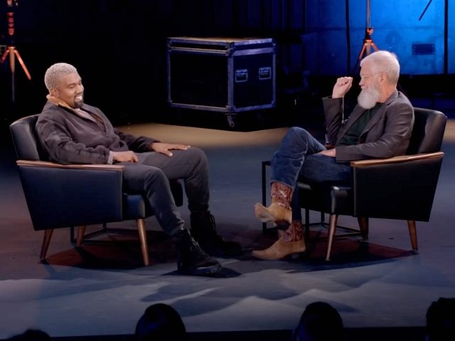 Kanye Opens Up About His Mother in Letterman Interview