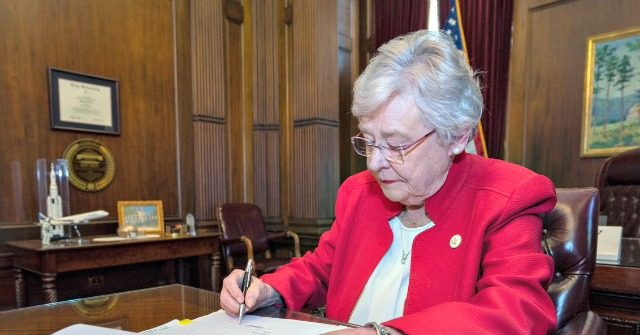 Alabama Gov. Kay Ivey Signs Abortion Ban into Law | Breitbart