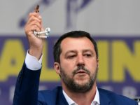 Italy Catholic Establishment Attacks Matteo Salvini for Invoking God