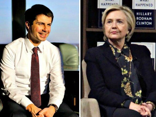 Mayor Pete, Hillary Getty