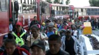 Migrants Travel to US by Bus