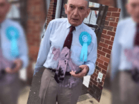 Elderly Veteran 'Milkshaked' While Wearing Brexit Party Rosette