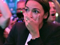 Alexandria Ocasio-Cortez in Knock Down the House.