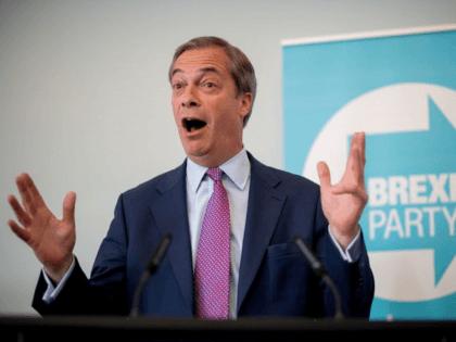 Nigel Farage Happy