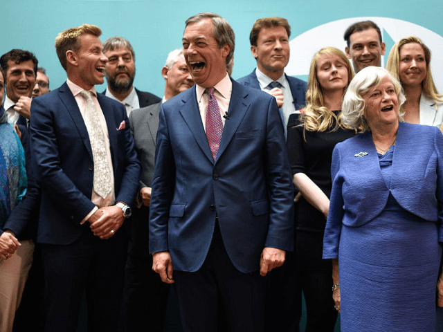 Nigel Farage Laughing