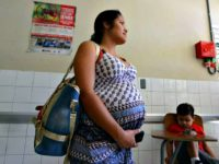 A pregnant woman waits to be attended at the Maternal and Children's Hospital in Tegucigalpa, Honduras ( AFP PHOTO/Orlando SIERRAORLANDO SIERRA/AFP/Getty Images
