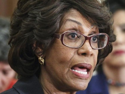 Maxine Waters: 'We're Not Going to Allow' Trump to 'Blackmail,' 'Threaten' Congress