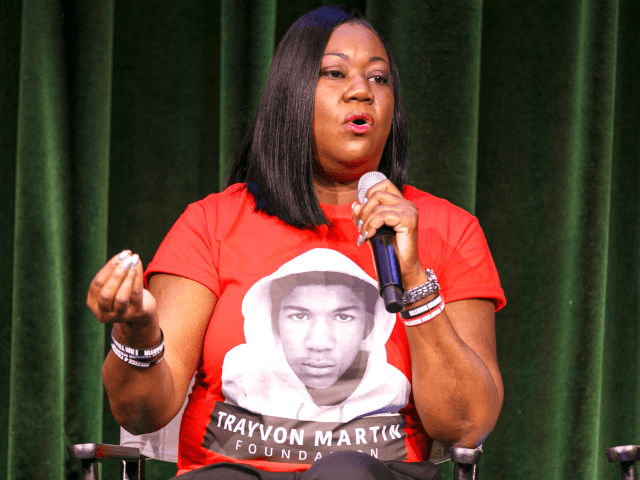 "Sybrina Fulton speaks on stage at ""Rest In Power: The Trayvon Martin Story"" Screening on July 26, 2018 in Venice, California. (Photo by Rich Polk/Getty Images for Paramount Network)"