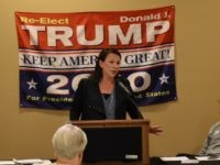 Martha Roby in Ozark, AL, Oct. 15, 2018 (Jeff Poor/Breitbart News)