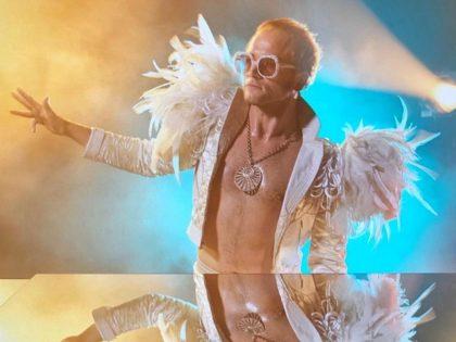 Taron Egerton in Rocketman (Marv Films/New Republic Pictures, 2019)