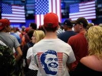 Ronald Reagan at Trump rally (Brendan Smialowski / AFP / Getty)