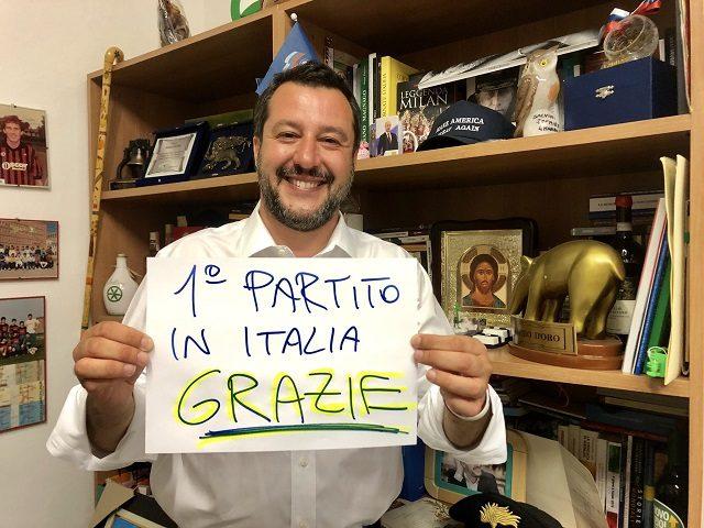 Matteo Salvini EU Elections
