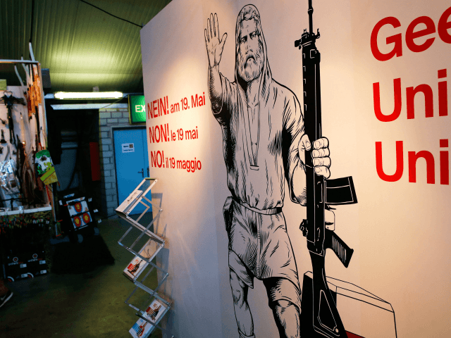 Swiss voters appear set to back tighter gun laws