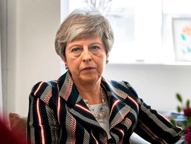 Theresa May Despondent
