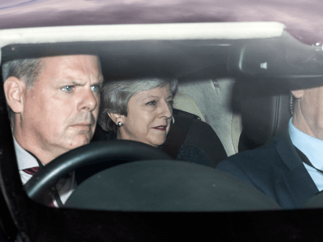 Theresa May Drives