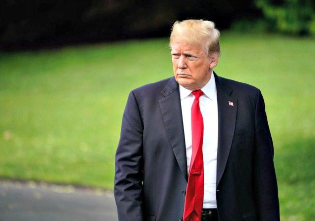 Trump Displeased