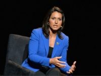 "NEW YORK, NY - JANUARY 29: U.S. Representative, HI-02 Tulsi Gabbard attends the 2016 ""Tina Brown Live Media's American Justice Summit"" at Gerald W. Lynch Theatre on January 29, 2016 in New York City. (Photo by Slaven Vlasic/Getty Images)"