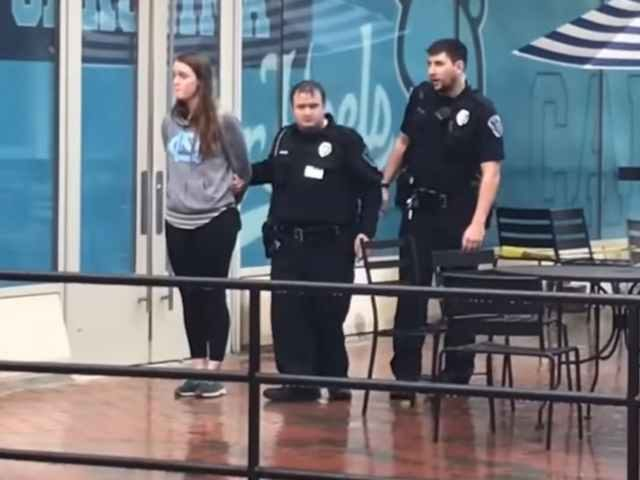 UNC Chapel hill Arrest