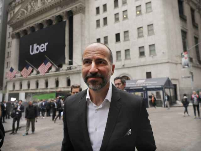 Uber CEO Dara Khosrowshahi on Wall Street