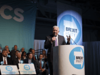 Former Czech President Václav Klaus Makes Surprise Speech at Brexit Rally