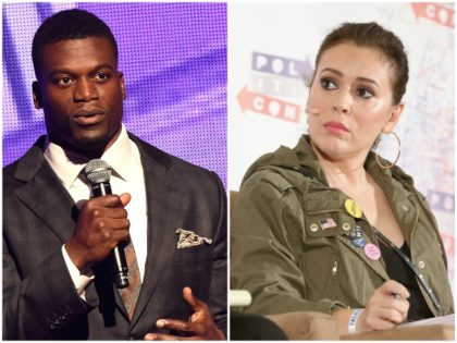 Nolte: NFL's Benjamin Watson Blasts Alyssa Milano Abortion Comment as 'Racism, Ignorance'