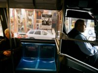 A seat sits vacant behind the bus driver on a New York City public bus in honor of civil rights trailblazer Rosa Parks December 1, 2005 in New York. The city of New York decided to honor the 50th anniversary of Park's refusal to give up a seat to a …