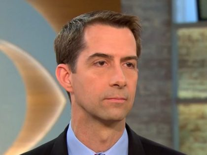 Cotton on Troop Presence at U.S. Capitol: 'I Don't Think That's Necessary'