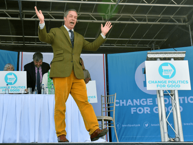 EU Election Poll Has Farage's Brexit Party Beating Labour and Tories COMBINED