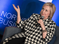 Former US Secretary of State, Hillary Rodham Clinton, attends an international conference focusing on gender equality at BI Norwegian Business School in Oslo, Friday, March 8, 2019. (Berit Roald/NTB scanpix via AP) Photo: Berit Roald, SUB / Associated Press