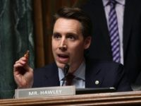 "U.S. Sen. Josh Hawley (R-MO) speaks during a hearing before the Senate Judiciary Committee March 12, 2019 on Capitol Hill in Washington, DC. The committee held a hearing on ""GDPR (EU General Data Protection Regulation) & CCPA (California Consumer Privacy Act): Opt-ins, Consumer Control, and the Impact on Competition and …"