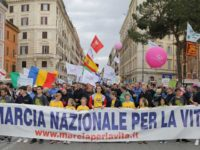 Rome's March for Life Draws its Largest Crowds Ever to Protest Abortion