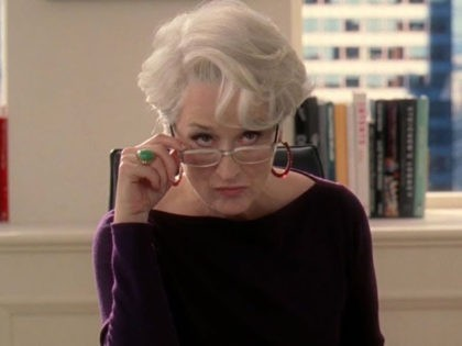 """Meryl Streep in """"The Devil Wears Prada."""""""