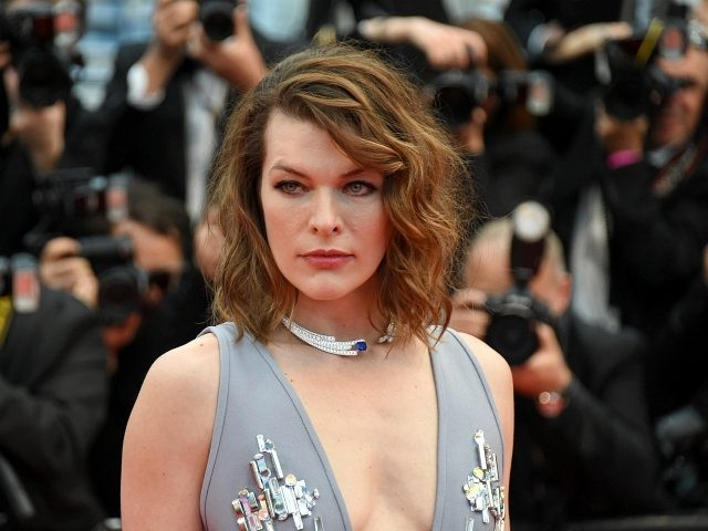 "CANNES, FRANCE - MAY 16: Milla Jovovich attends the screening of ""Burning"" during the 71st annual Cannes Film Festival at Palais des Festivals on May 16, 2018 in Cannes, France. (Photo by Nicholas Hunt/Getty Images)"