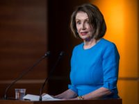 WASHINGTON, DC - MAY 16: House Speaker Nancy Pelosi (D-CA) speaks during a weekly news conference May 16, 2019 on Capitol Hill in Washington, DC. (Photo by Zach Gibson/Getty Images)