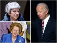 Former Vice President Joe Biden on Saturday night scrambled the name of the British Prime Minister Theresa May with Margaret Thatcher - who left office in 1990.