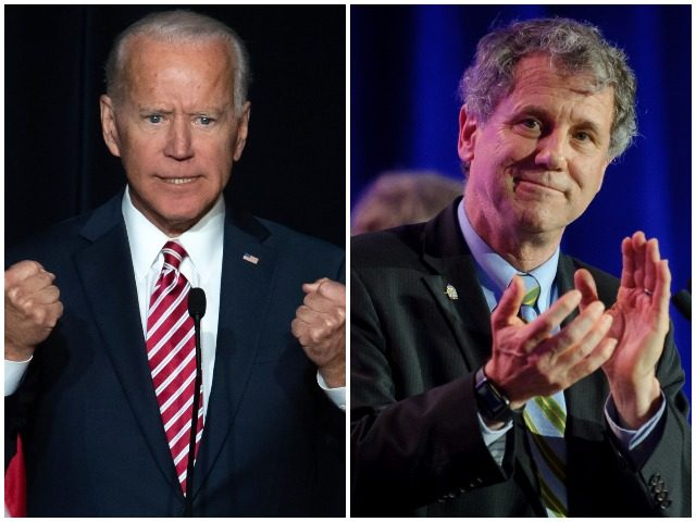 Former Vice President Joe Biden officially kicked off his 2020 presidential campaign, but part of his populist message borrows from a theme sparked by Democrat Senator Sherrod Brown of Ohio.