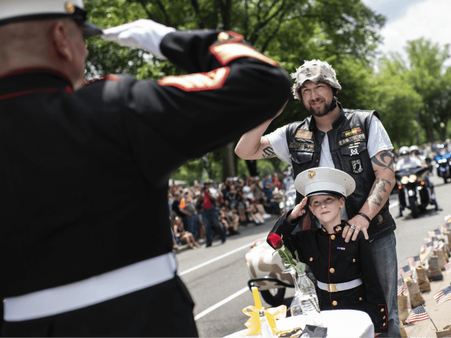 PHOTOS: 'Rolling Thunder' Rides Through D.C. as Trump Pledges to Protect Memorial Day Tradition